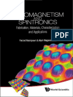 Farzad Nasirpouri, Alain Nogaret, Editors - Nanomagnetism and Spintronics_ Fabrication, Materials, Characterization and Applications-World Scientific Publishing Company (2010)