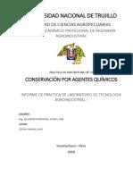 Informe de Laboratorio_conservación Por Agentes Químicos