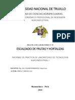 Informe de Laboratorio_escaldado de Frutas y Hortalizas