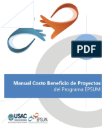 4 Manual Costo Beneficio Proyectos EPSUM