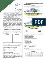 Provas Port&Mat 3C 2008 ESCOLA