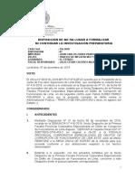 Caso 156-2018 Disposicion de Archivo Liminar