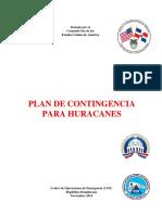 Plan de Contingencia Para Huracanes