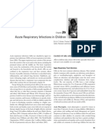 acute respiratory infection in children