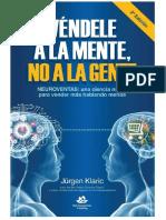 Vendele a La Mente No a La Gente (Jurgen Klaric)