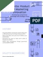 Marketing Report Gillette