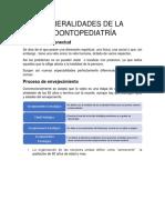 Generalidades de La Odontopediatría