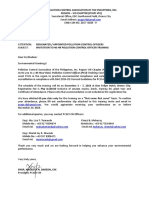 8 PCO Training Invitation Letter December 2018