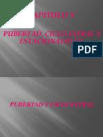 5. Pubertad, Ciclo Estral y Estacionalidad.