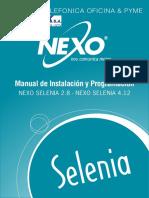 SELENIA Manual de Instalacion y Programacion 1