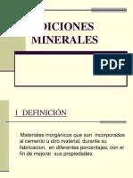 6.1 Adiciones Minerales