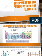 Lesson Grade 8 Development of the Periodic Table, Reactivity Series and Trends