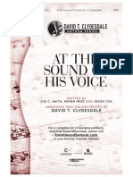 At the Sound of His Voice Preview