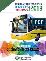 Horarios Micros Autobuses - Enero 2019
