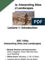 Lecture 1 -- Intro