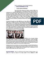La Música Andina Contemporánea