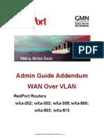 RedPort WXa Admin Guide VLAN Addendum