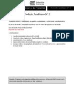 Producto Académico N2 Gerencia de Proyectos