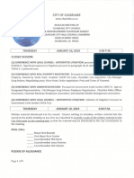 011019 Clearlake City Council agenda  packet