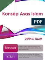 Konsep Asas Islam