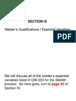Welder Quals