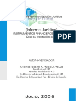 Informe Afecto IR Instrumentos Financieros - Andree Tudela
