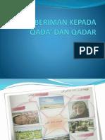 Beriman Kepada Qada' & Qadar