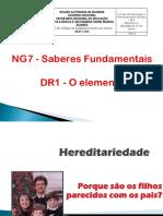 Genética e Hereditariedade STC NG7 DR1