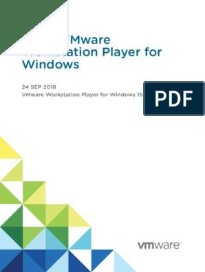 Workstation Player 15 Windows User Guide | V Mware
