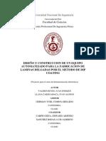 DISEÑO Y CONSTRUCCIÓN DE UN EQUIPO AUTOMATIZADO DE DIP COATING