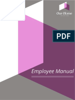 Employee Manual Our Home Policies and Procedures(2)