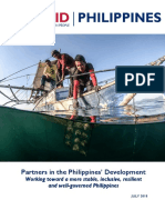 USAID Philippines Development Handbook as of July 2018