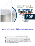 a333 gr 6 pipe