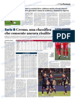 La Provincia Di Cremona 07-01-2019 - Serie B