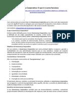 ARTIGO - Governança Corporativa - O Que é e Como Funciona (Gustavo Periard)