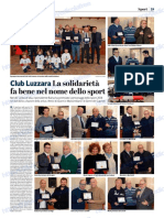 La Provincia Di Cremona 07-01-2019 - Club Luzzara