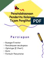 Praktek Tajam Penglihatan.ppt