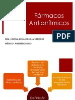 Arritmias y Fármacos Antiarrítmicos