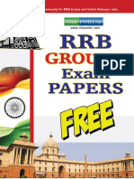 RRB Group-D Exam Practice Sample Papers