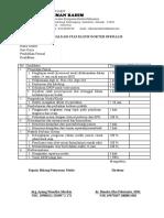 Form Evaluasi Staf Klinis Dpjp