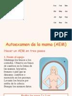 AEM (Auto examen de mama)