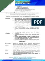 surat keputusan direktur muhammadiyah
