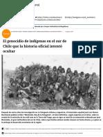 El Genocidio de Indígenas en El Sur de Chile Que La Historia Oficial Intentó Ocultar - El Mostrador