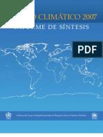 Cambio Climático 2007. (4) Informe de Sintésis - 2007 (IPCC)
