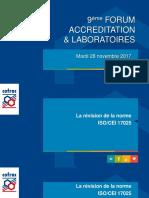 Révision de La Norme NF en ISO_CEI 17025