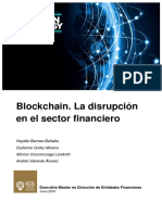 Blockchain. La Disrupción Del Sector Financiero
