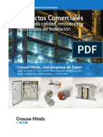 CATALOGO PRODUCTOS MARCA ELECTRICA CROUSE HINDS