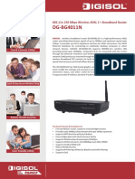 Data Products DIGISOL RANGER Series Downloads DG-BG4011N Datasheet