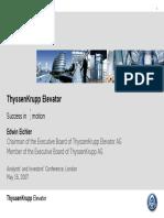 Thyssen Planner