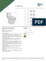 IdealStandard Vas Wc Stativ Pentru Combinare E8038